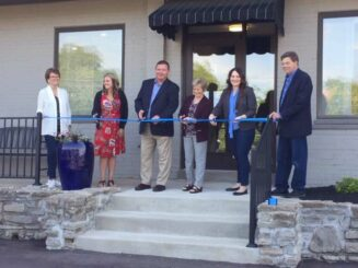Ribbon cutting ceremony at 880 Alexandria Pike building, Fort Thomas, KY